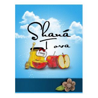 Shana Tufa/Rosh Hashanah Postcard
