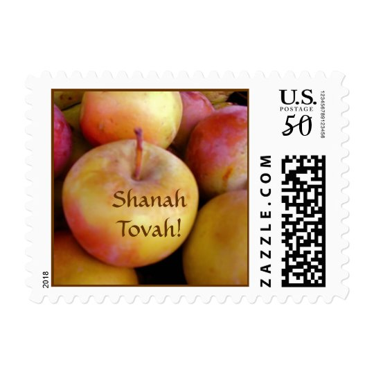 Shanah Tovah Apples Stamp