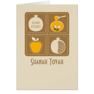 Shanah Tovah Rosh Hashanah Jewish New Year Card