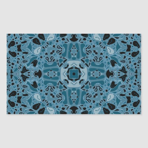 Shandon Kaleidoscope Rectangle Sticker