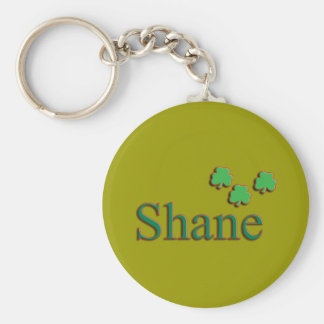 Shane Mens Name Keychain
