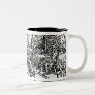 Shane O'Neill rebellious would-be Earl of Two-Tone Coffee Mug