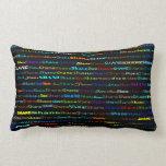 Shane Text Design I Lumbar Pillow
