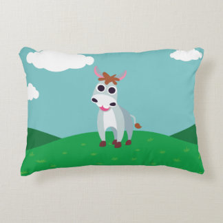 Shane the Donkey Accent Pillow