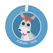 Shane the Donkey Ornament