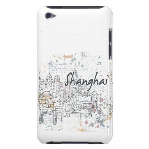 Shangai Barely There iPod Carcasas