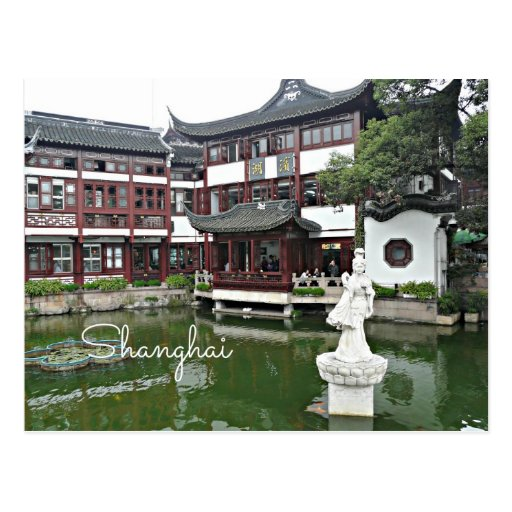 Shangai, China - ciudad vieja Postales