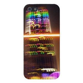 Shangai en la noche - cubierta del caso del iPhone iPhone 5 Carcasa