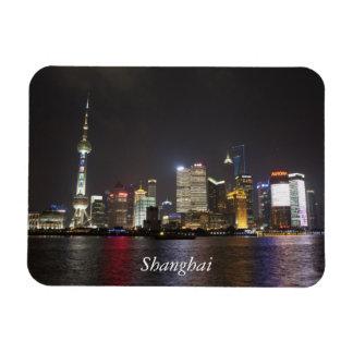 Shangai Pudong, China Rectangle Magnet