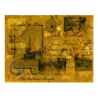 Shangai vieja tarjeta postal
