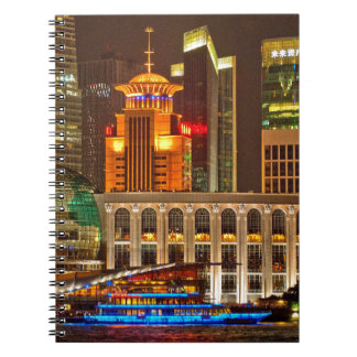 Shanghai at Night Notebook