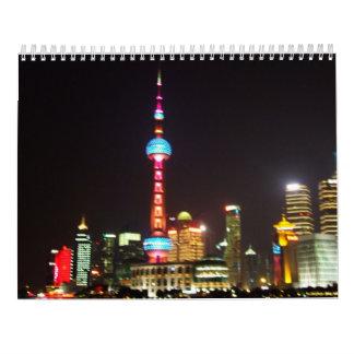 Shanghai China 2017 Calendar