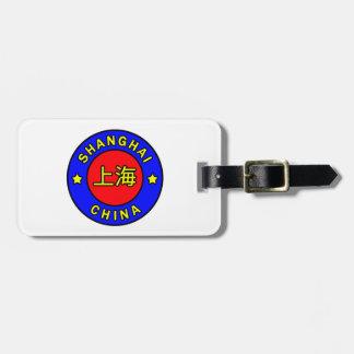 Shanghai China Bag Tag
