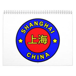 Shanghai China calendar