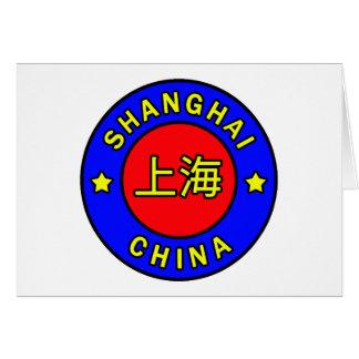 Shanghai China Card
