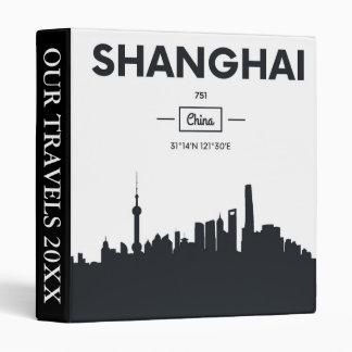 Shanghai, China | City Coordinates Binder