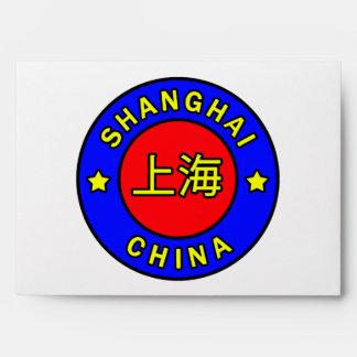 Shanghai China Envelope