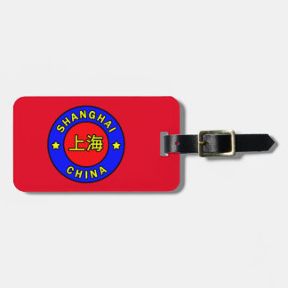 Shanghai China Luggage Tag