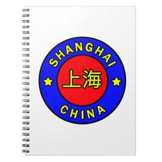Shanghai China Notebook