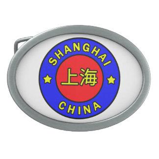 Shanghai China Oval Belt Buckle