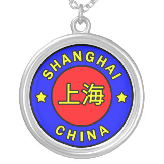 Shanghai China Silver Plated Necklace
