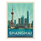 Shanghai, China | Skyline Postcard