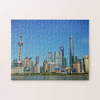 Shanghai, China - View from the Bund Jigsaw Puzzles