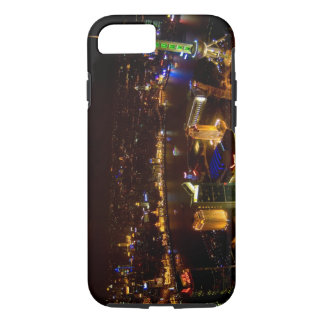 Shanghai China wonderful skyline with modern iPhone 7 Case