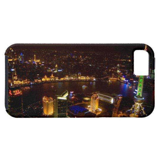 Shanghai China wonderful skyline with modern iPhone SE/5/5s Case