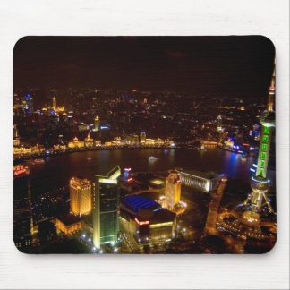 Shanghai China wonderful skyline with modern Mouse Pad