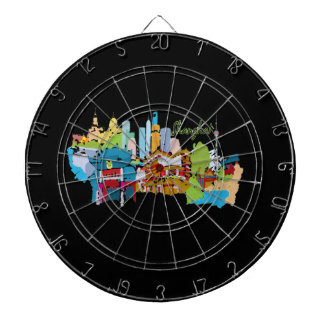 shanghai city watercolored muted colors design.png dart boards
