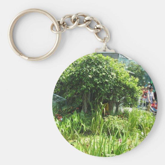 Shanghai Expo garden at Hong Kong pavillion035 Keychain