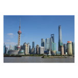 Shanghai from the Bund Poster