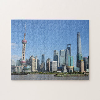 Shanghai from the Bund Puzzle