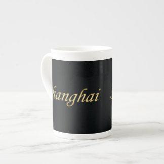 Shanghai Gold - English - On Black Tea Cup