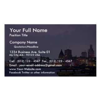Shanghai Harbor, China Double-Sided Standard Business Cards (Pack Of 100)