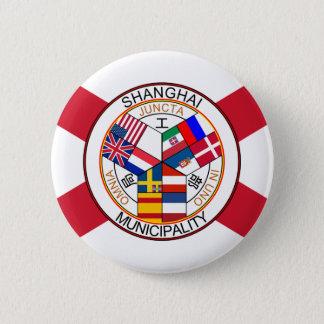 Shanghai International Settlement, China Pinback Button