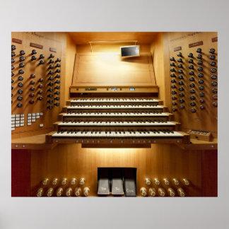 Shanghai pipe organ poster