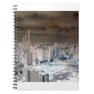 Shanghai Skyline Funk Notebook