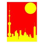 Shanghai Sunshine Postcard