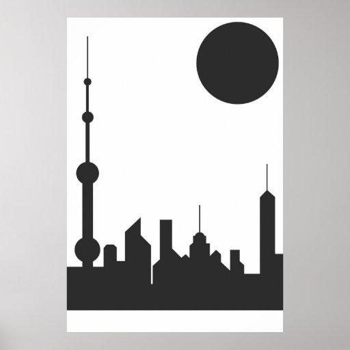 Shanghai Sunshine Print