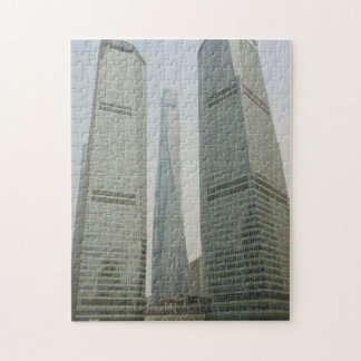Shanghai Tower -Lujiazui, Pudong - Shanghai, China Jigsaw Puzzle