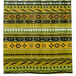 Shango Tribal Design Shower Curtain