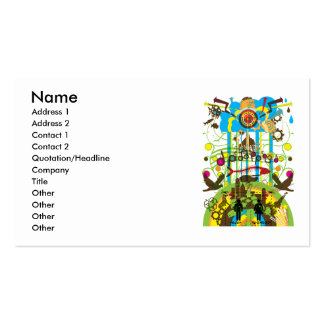 Shangri-La Double-Sided Standard Business Cards (Pack Of 100)