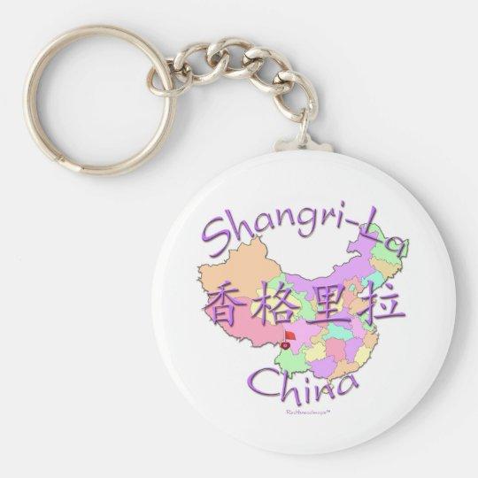 Shangri-La China Keychain