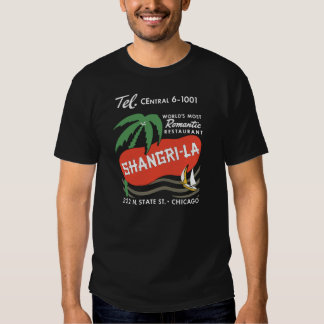 Shangri-La (Front and Back) T-Shirt