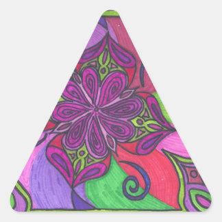 Shangri-la-la 001.jpg pegatina triangular