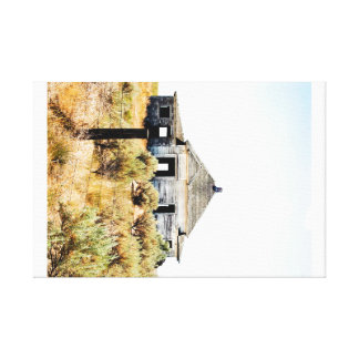 Shaniko House Canvas Print