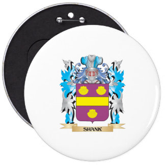 Shank Coat of Arms - Family Crest Buttons