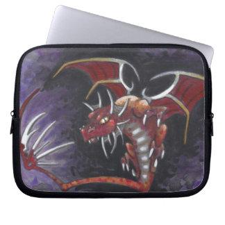 Shank Red Dragon big eye fantasy art laptop case Computer Sleeves